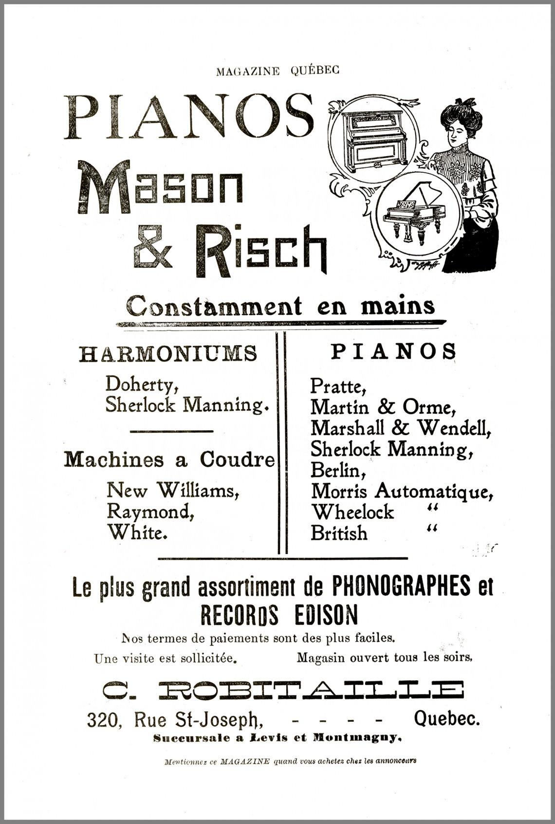 - Magazine Québec (réédition)